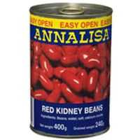 Annalisa Beans Red Kidney