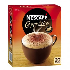 Nescafe Cafe Menu Cappuccino