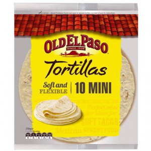 Old El Paso Tortillas Mini