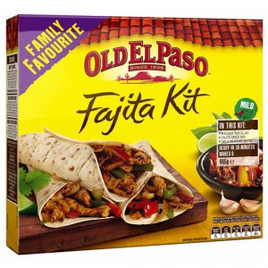 Old El Paso Dinner Kit Fajita