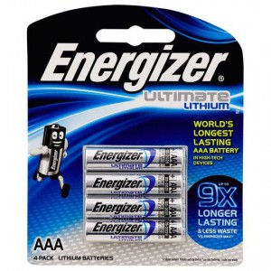 Energizer Lithium Ultimate Aaa Batteries