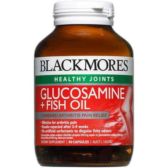 Blackmores Healthy Joints Glucosamine + Fish Oil