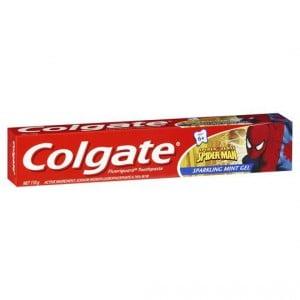 Colgate Sparkling Mint Gel Toothpaste Spiderman