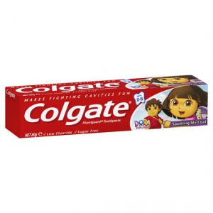 Colgate Sparkling Mint Gel Toothpaste For Kids