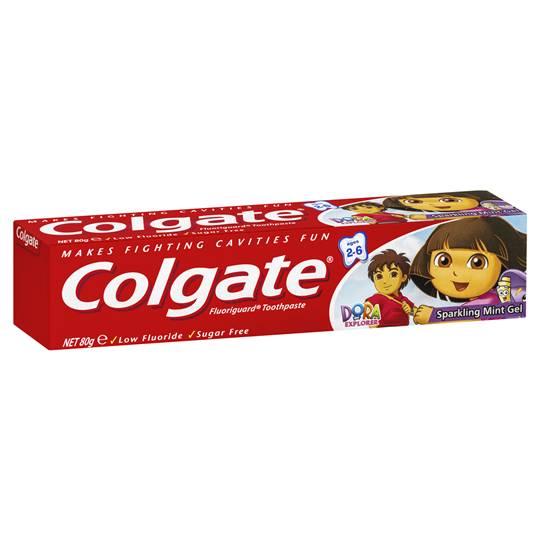 Colgate Sparkling Mint Gel Toothpaste For Kids