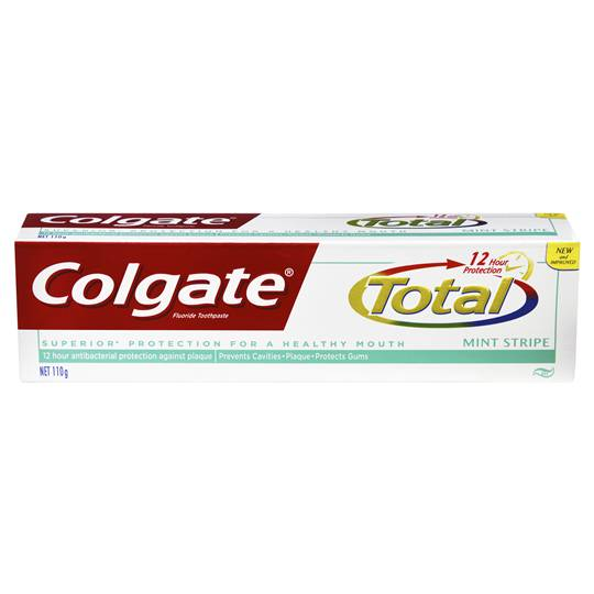 Colgate Total Toothpaste Mint Stripe