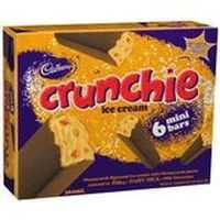 becstalou reviewed Cadbury Dairy Milk Ice Cream Bars Crunchie