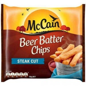 Mccain Beer Batter Steakhouse Chips