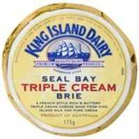 King Island Seal Bay Triple Cream Brie Cheese