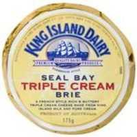 King Island Seal Bay Triple Cream Brie Cheese