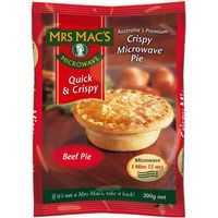 Mrs Macs Pies Microwave Beef