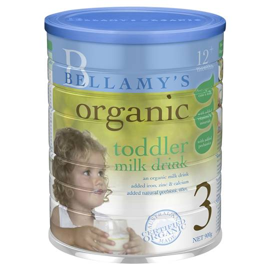 Bellamy's Organic Toddler Baby Formula Stage 3