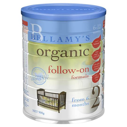 Bellamy's Organic Follow-on Formula Stage 2 From 6 Months