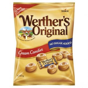 Werther's Original Cream Candies No Sugar Added