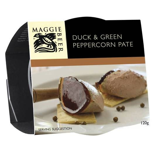 Maggie Beer Pate Duck Sherry & Green Peppercorn