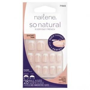 Nailene So Natural Nail Short Pink