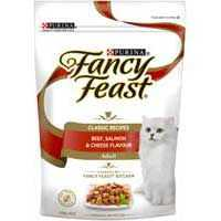 Fancy Feast Adult Cat Food Beef Salmon & Cheese