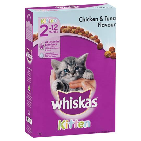 Whiskas Kitten Food Chicken & Tuna