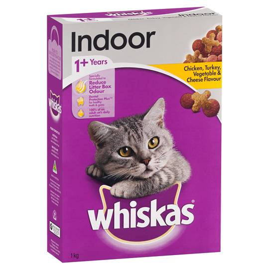 Whiskas Adult Cat Food Chicken Turkey & Vegetable