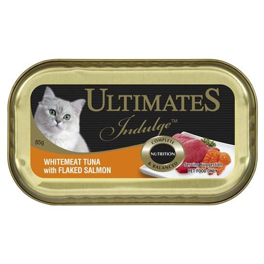 Ultimates Indulge Adult Cat Food Whitemeat Tuna With Salmon