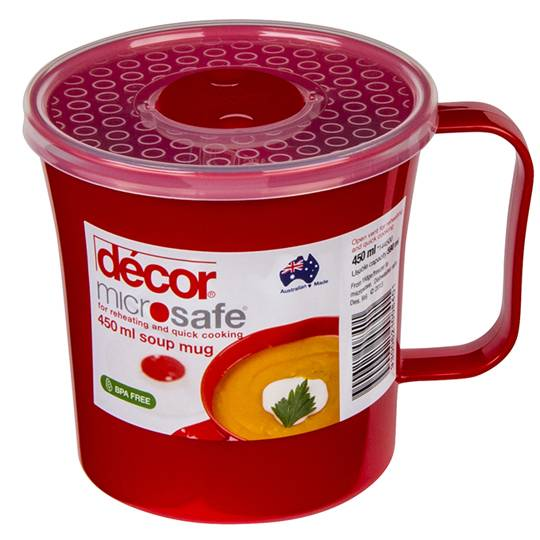 Decor Microsafe Soup Mug