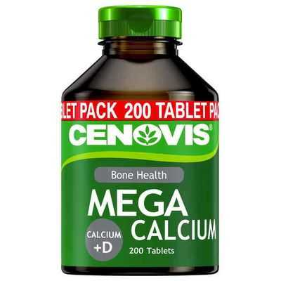 Cenovis Mega Calcium Plus D Tablets