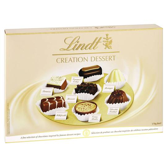 Lindt Creation Dessert Boxed Chocolates