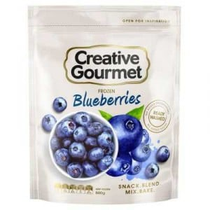 Creative Gourmet Frozen Fruit Blueberries