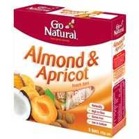 Go Natural Bars Almond Apricot
