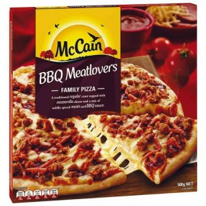 Mccain Pizza Meatlovers Bbq
