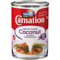 Carnation Light & Creamy Evaporated Milk Coconut Flavoured