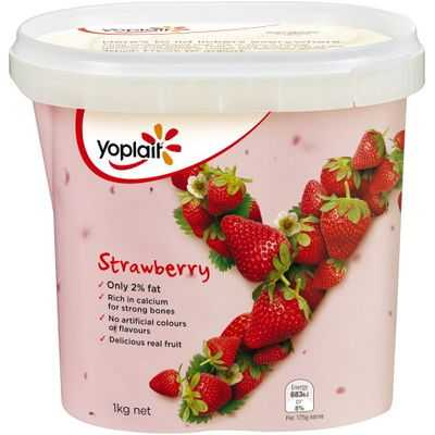 Yoplait Lite Strawberry Yoghurt