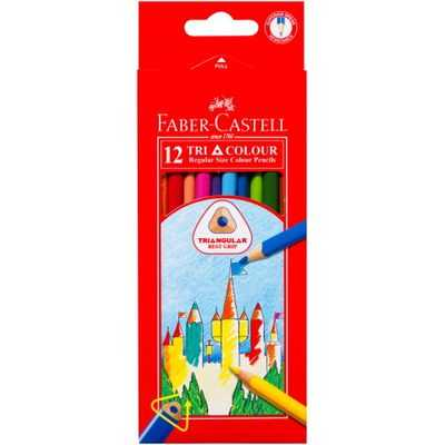 Faber-castell Coloured Pencils Tri Grip