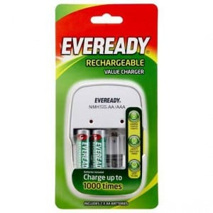 Eveready Value Battery Charger