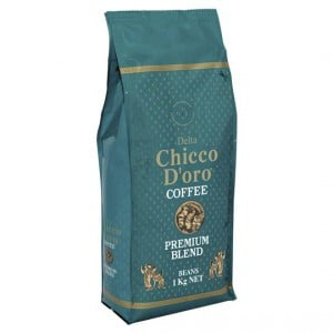 Delta Chicco Doro Premium Blend Coffee Beans