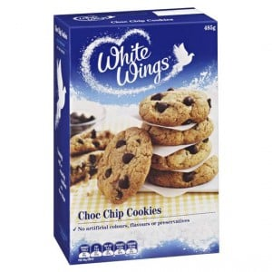 White Wings Cookie Mix Soft Centred Choc Chip