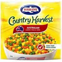 Birds Eye Country Harvest Mixed Vegetables Peas Corn & Carrot