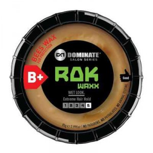 Dominate Rok Wax For An Extra Hard Hold