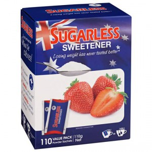 Sugarless Sweetener Powder Sachets
