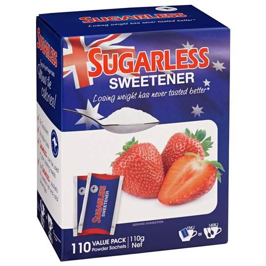 Sugarless Sweetener Powder Sachets