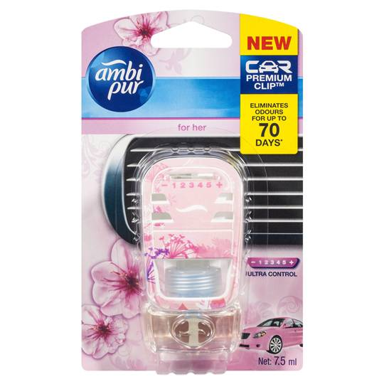 Ambi Pur Car Premium Clip Air Freshener For Her