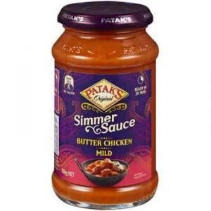 Pataks Simmer Sauce Butter Chicken
