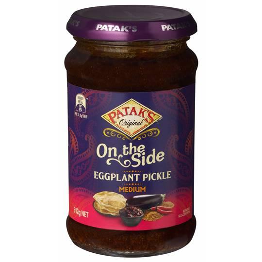 Pataks Ingredients Pickle Eggplant