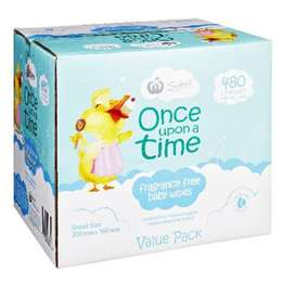 Once Upon A Time Wipes Fragrance Free