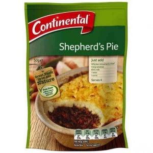 Continental Recipe Base Shepherds Pie
