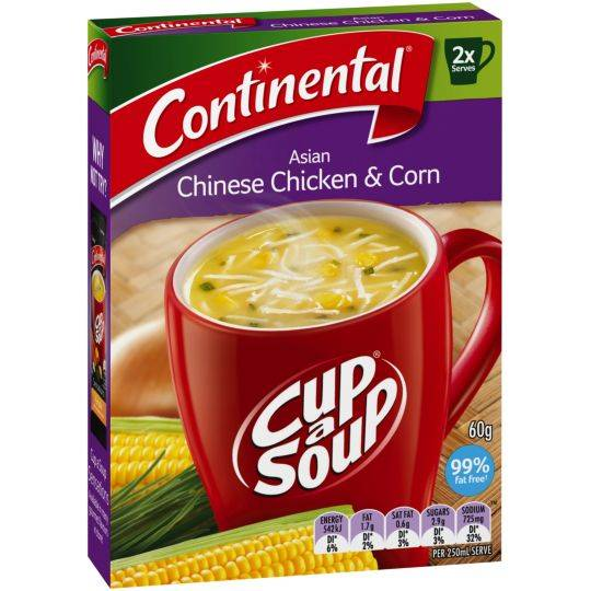 Continental Cup A Soup Asian Chicken & Sweetcorn