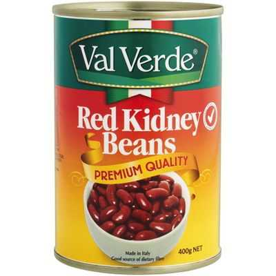 Val Verde Beans Red Kidney