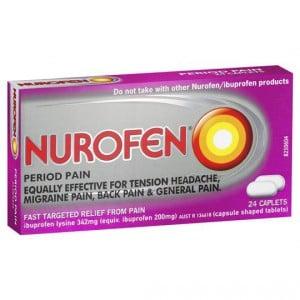 Nurofen Tablets Period Pain