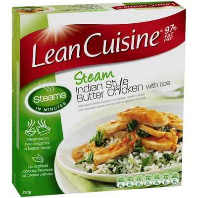 Lean Cuisine Steam Butter Chicken