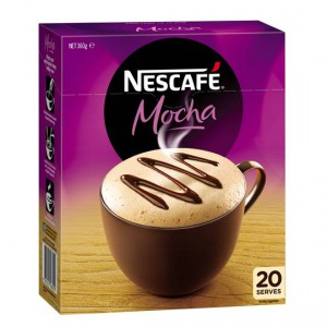 Nescafe Cafe Menu Mocha